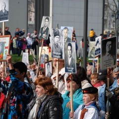Victory Day in Vladivostok