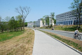FEFU campus on Russian Island